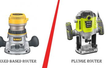 Fixed Base Router vs Plunge Router