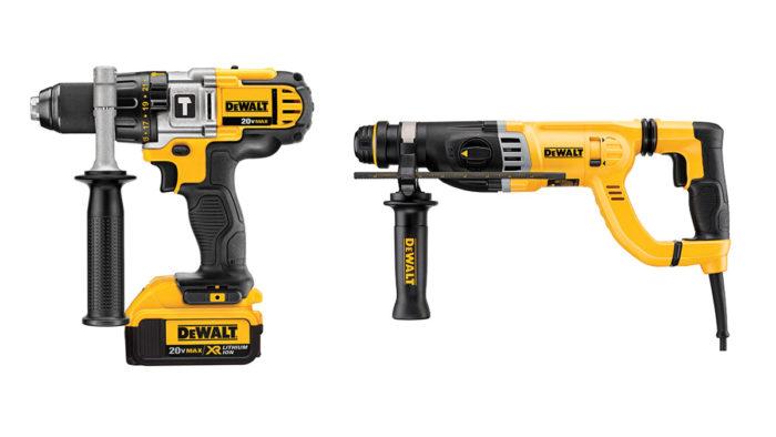 Hammer Drill vs Rotary Hammer